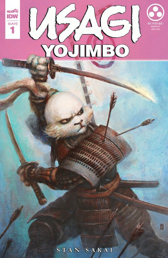 Usagi Yojimbo Sayı 1 (Kapak B)