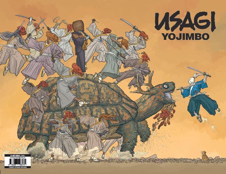 Usagi Yojimbo Sayı 1 (Presstij Dükkan Varyantı)