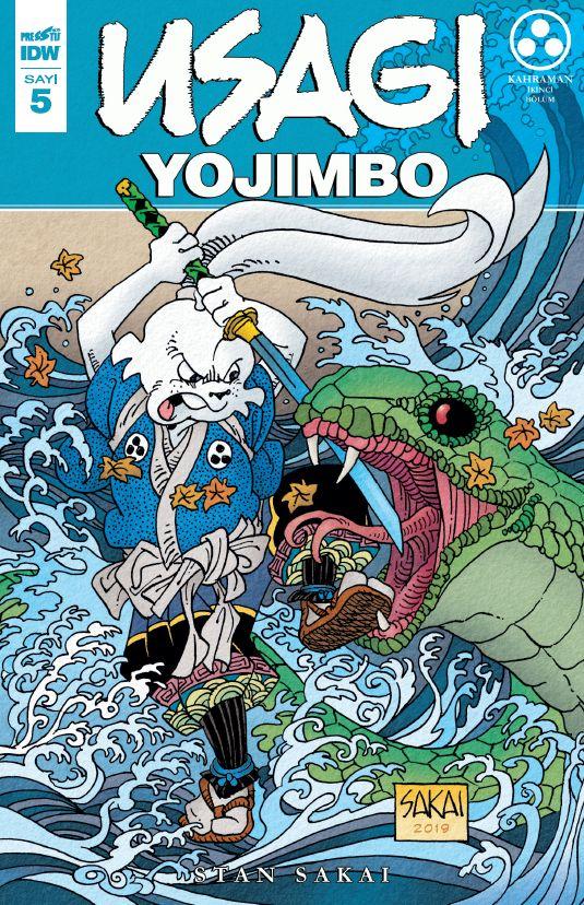 Usagi Yojimbo Sayı 5