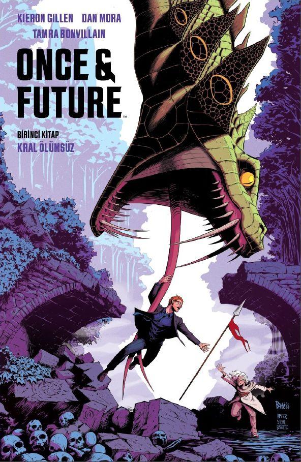 Once & Future Cilt 1 : Kral Ölümsüz - Presstij Dükkan Variantı