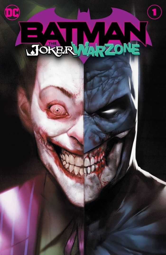 BATMAN THE JOKER WAR ZONE #1 ONE SHOT COVER A BEN OLIVER JOKER WAR - ÖN SİPARİŞ KAPORA ÖDEMESİ