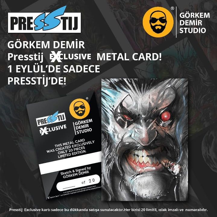 Görkem DEMİR - METAL CARD Presstij Exclusive