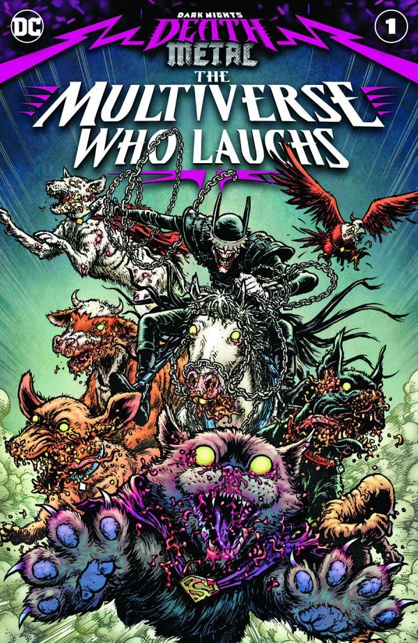 DARK NIGHTS DEATH METAL THE MULTIVERSE WHO LAUGHS #1 - ÖN SİPARİŞ KAPORA ÖDEMESİ