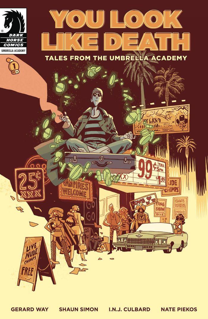 YOU LOOK LIKE DEATH TALES UMBRELLA ACADEMY #1 (OF 6) COVER A GABRIEL BA