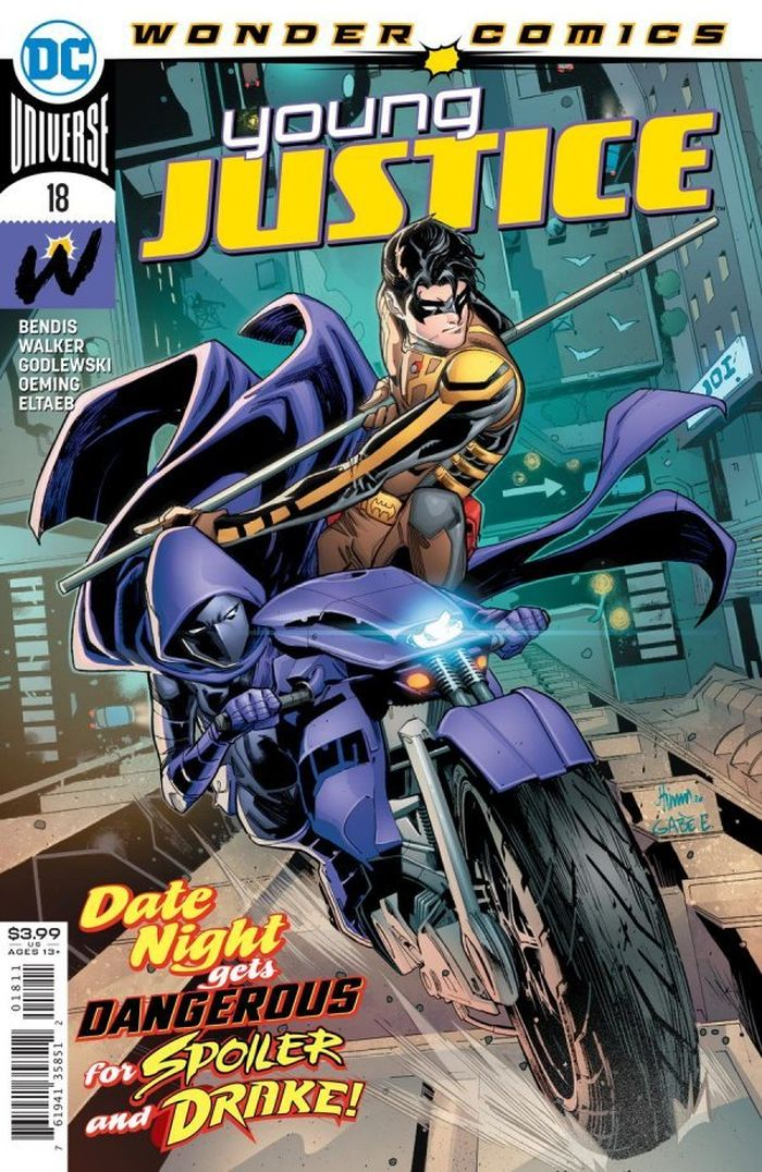 YOUNG JUSTICE #18 COVER A JOHN TIMMS