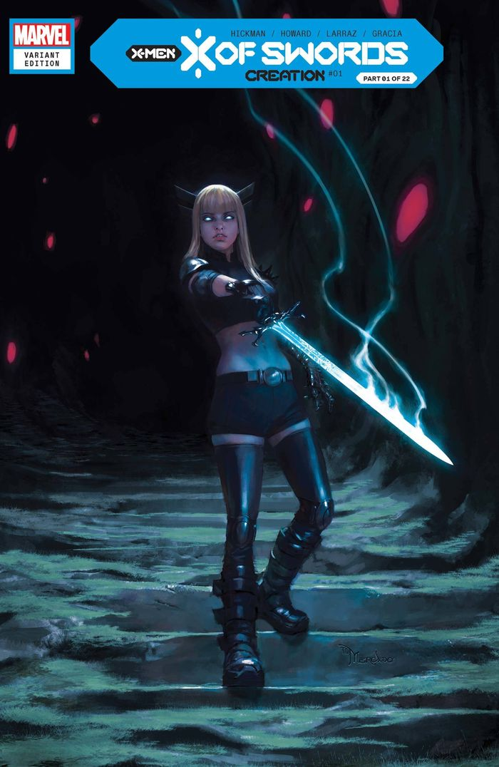 X OF SWORDS CREATION #1 MERCADO VARIANT