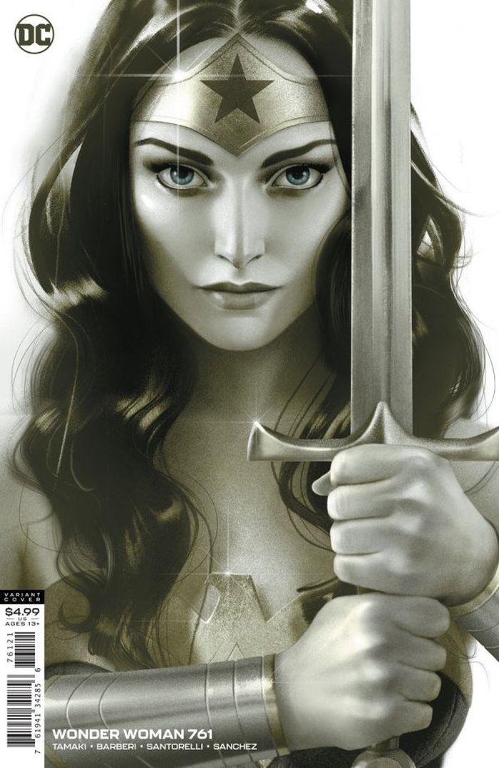 WONDER WOMAN #761 COVER B JOSHUA MIDDLETON CARD STOCK VARIANT