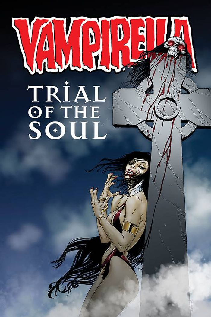 VAMPIRELLA TRIAL OF THE SOUL ONE SHOT COVER A SEARS