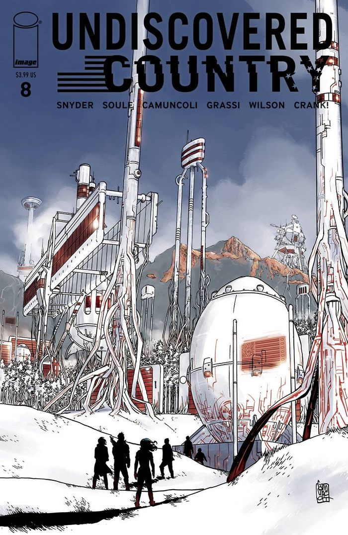 UNDISCOVERED COUNTRY #8 COVER A CAMUNCOLI