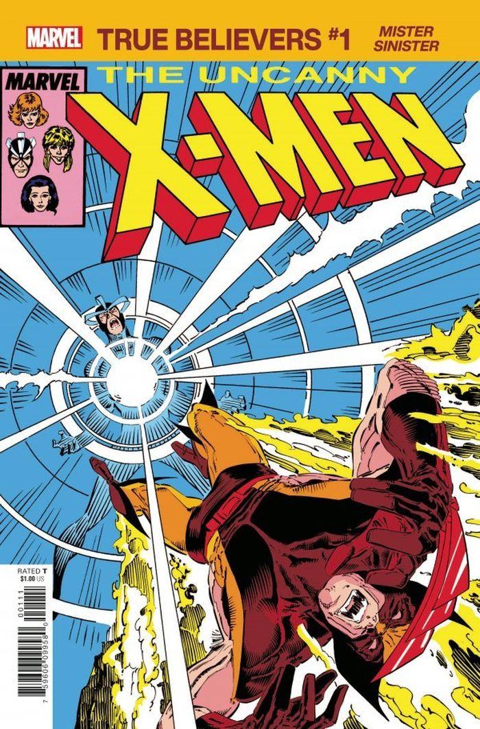 TRUE BELIEVERS X-MEN MISTER SINISTER #1 + 1 Adet Yerli Karton ve Poşet