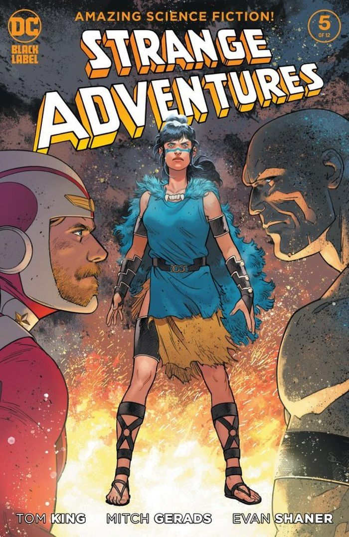 STRANGE ADVENTURES #5 (OF 12) COVER B EVAN DOC SHANER VARIANT