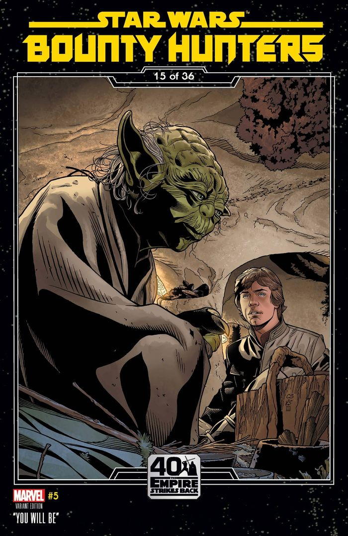 STAR WARS BOUNTY HUNTERS #5 SPROUSE EMPIRE STRIKES BACK VARIANT