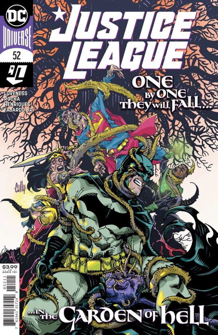 JUSTICE LEAGUE #52 COVER A CULLY HAMNER