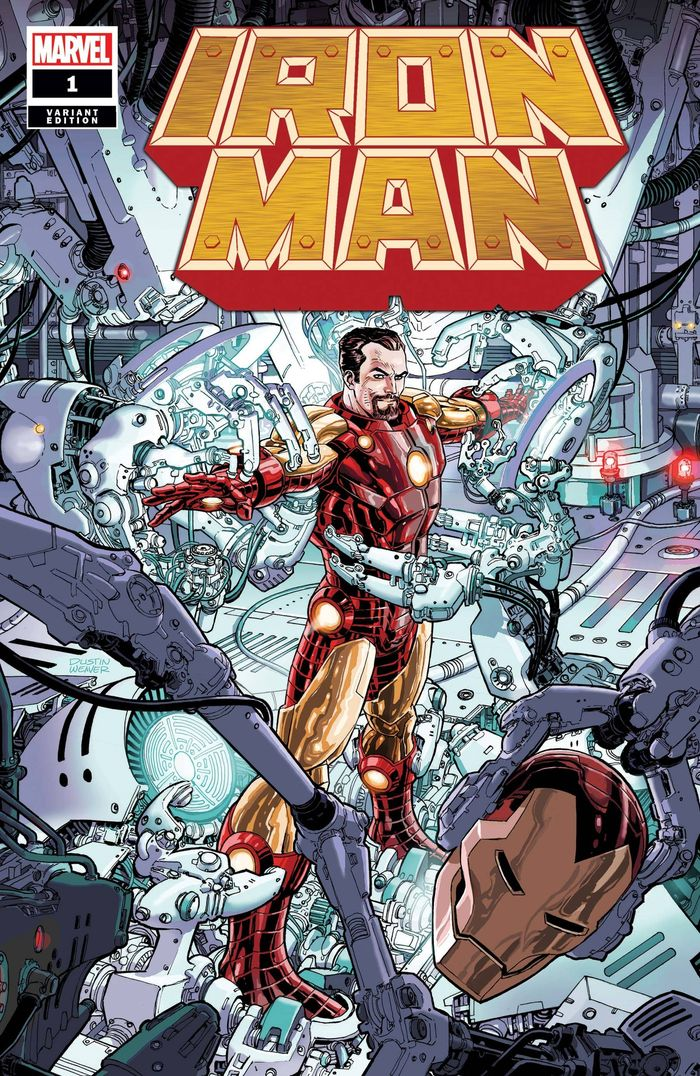 IRON MAN #1 WEAVER VARIANT