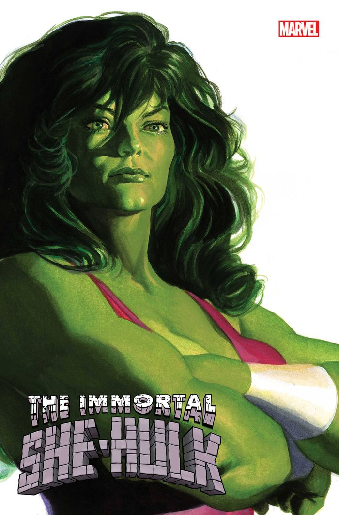 IMMORTAL SHE-HULK #1 ALEX ROSS SHE-HULK TIMELESS VARIANT