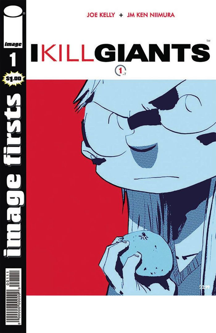 IMAGE FIRSTS I KILL GIANTS #1 + 1 Adet Yerli Karton ve Poşet