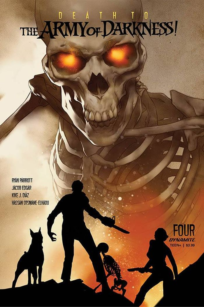 DEATH TO ARMY OF DARKNESS #4 COVER A OLIVER