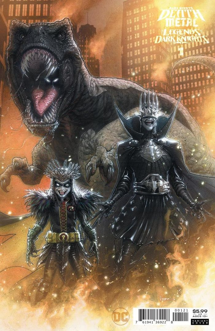 DARK NIGHTS DEATH METAL LEGENDS OF THE DARK KNIGHTS #1 INC 1:25 VARIANT