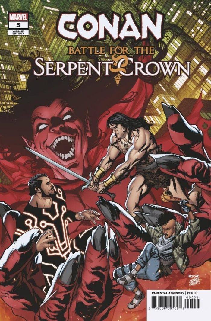 CONAN BATTLE FOR SERPENT CROWN #5 (OF 5) MCKONE VARIANT