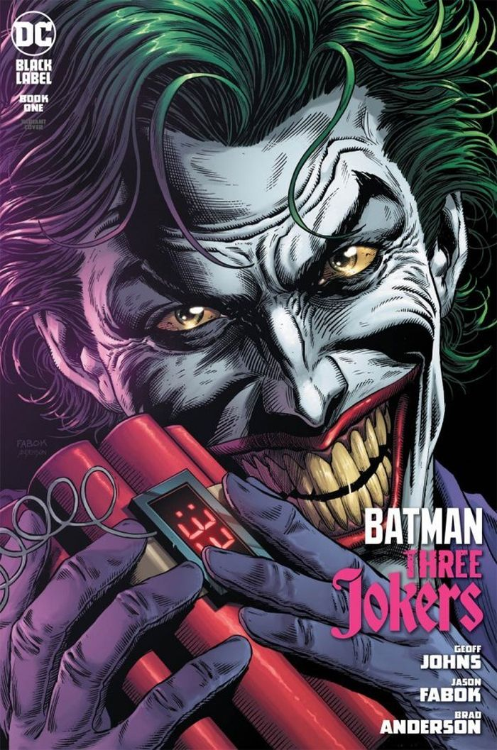 BATMAN THREE JOKERS #1 (OF 3) PREMIUM VARIANT C BOMB