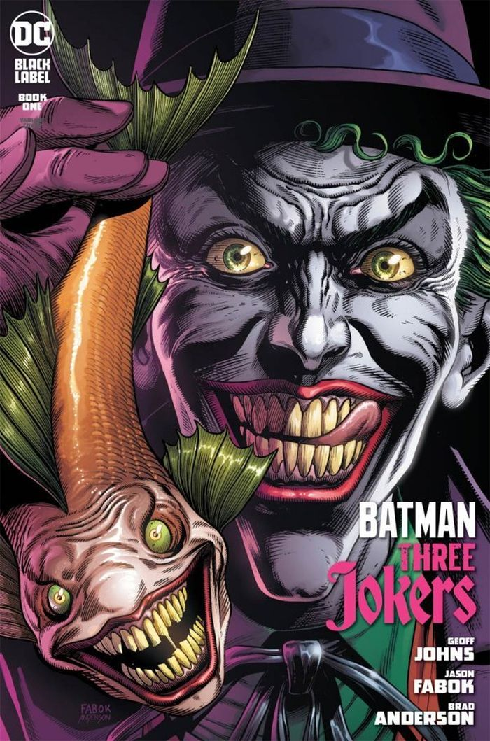 BATMAN THREE JOKERS #1 (OF 3) PREMIUM VARIANT B JOKER FISH