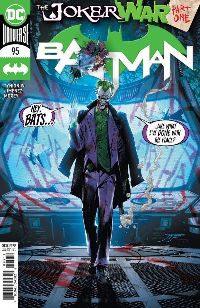 BATMAN #95 JOKER WAR