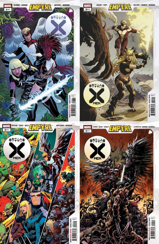 EMPYRE X-MEN #1 - 4 (OF 4) SET