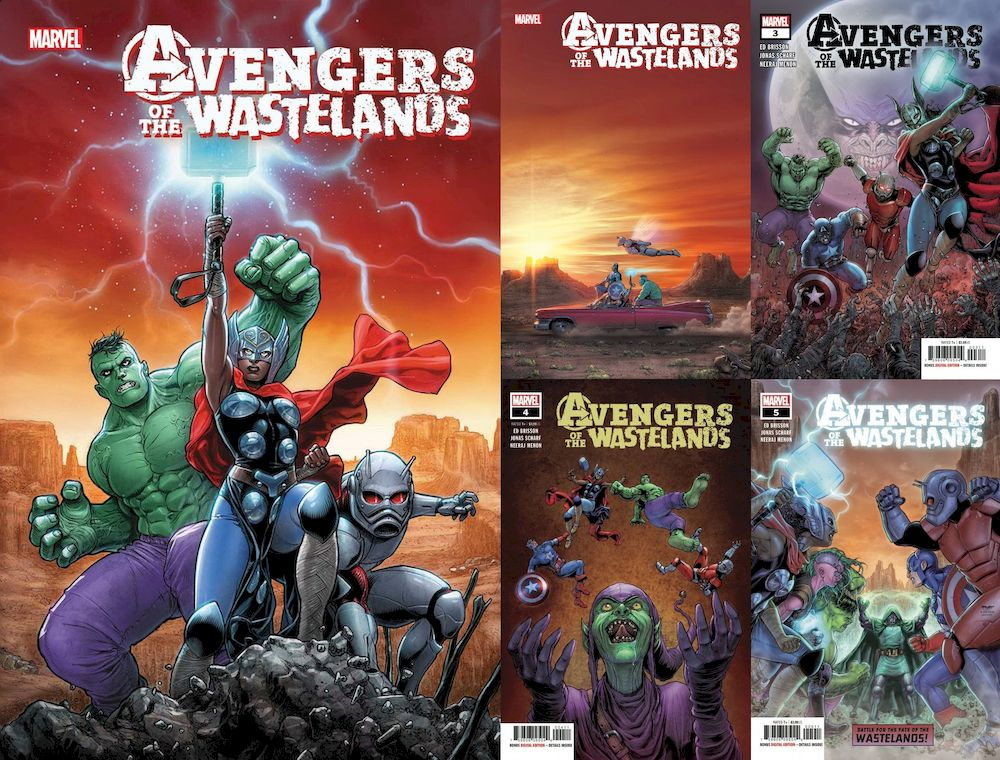AVENGERS OF THE WASTELANDS #1 - 5 (OF 5) SET