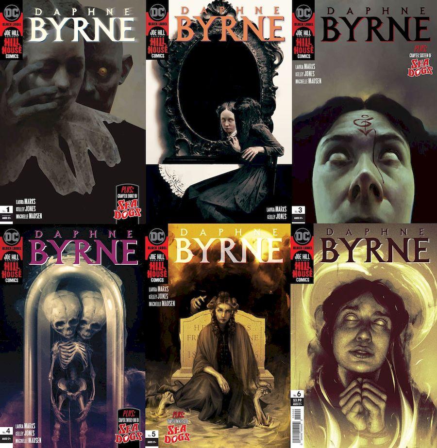 DAPHNE BYRNE #1 - 6 (OF 6) SET