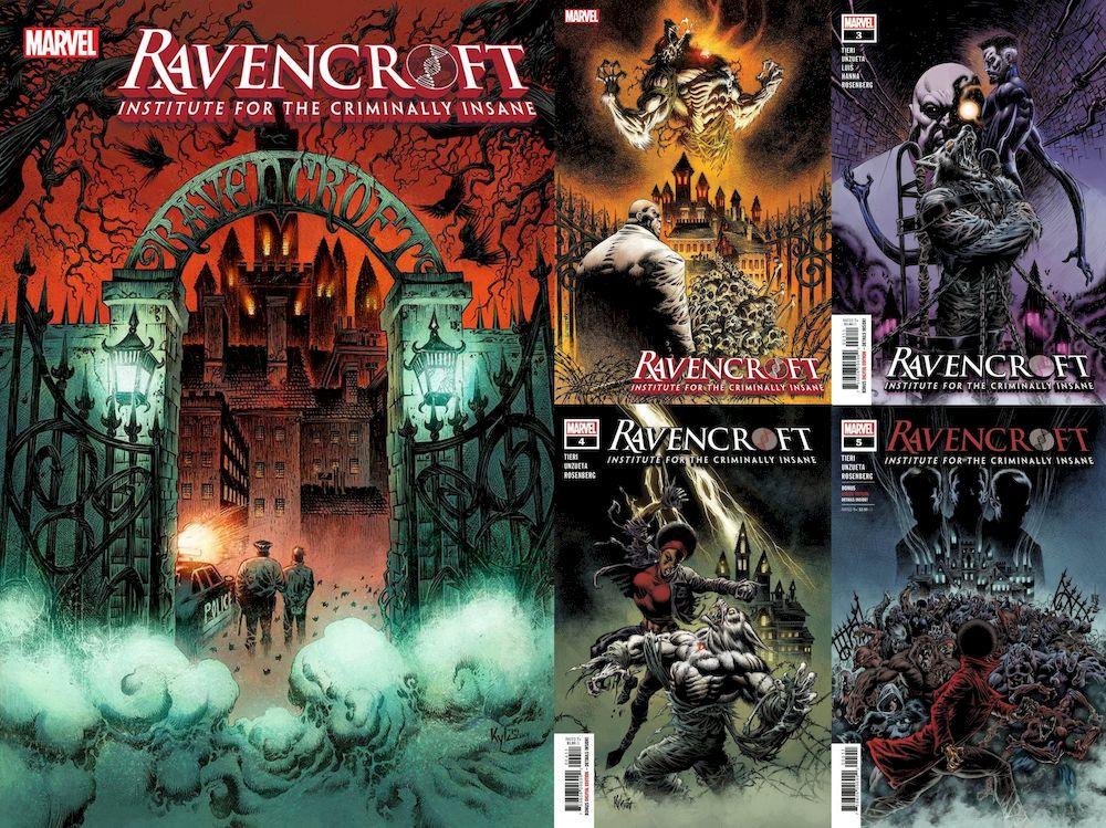 RAVENCROFT #1 - 5 (OF 5) SET
