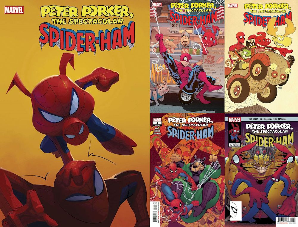 SPIDER-HAM #1 - 5 (OF 5)  SET