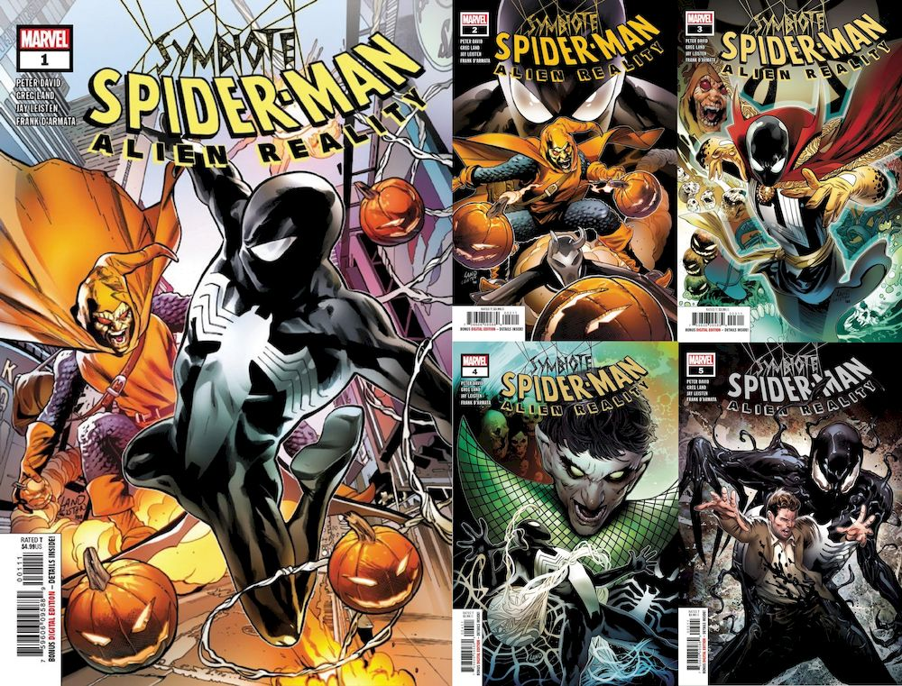 SYMBIOTE SPIDER-MAN ALIEN REALITY #1 - 5 (OF 5)  SET