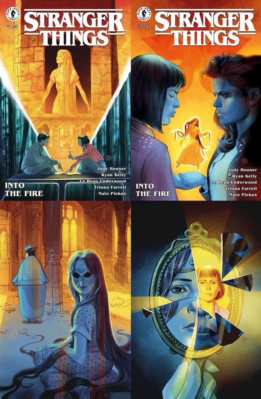 STRANGER THINGS INTO THE FIRE #1 - 4 (OF 4)  SET