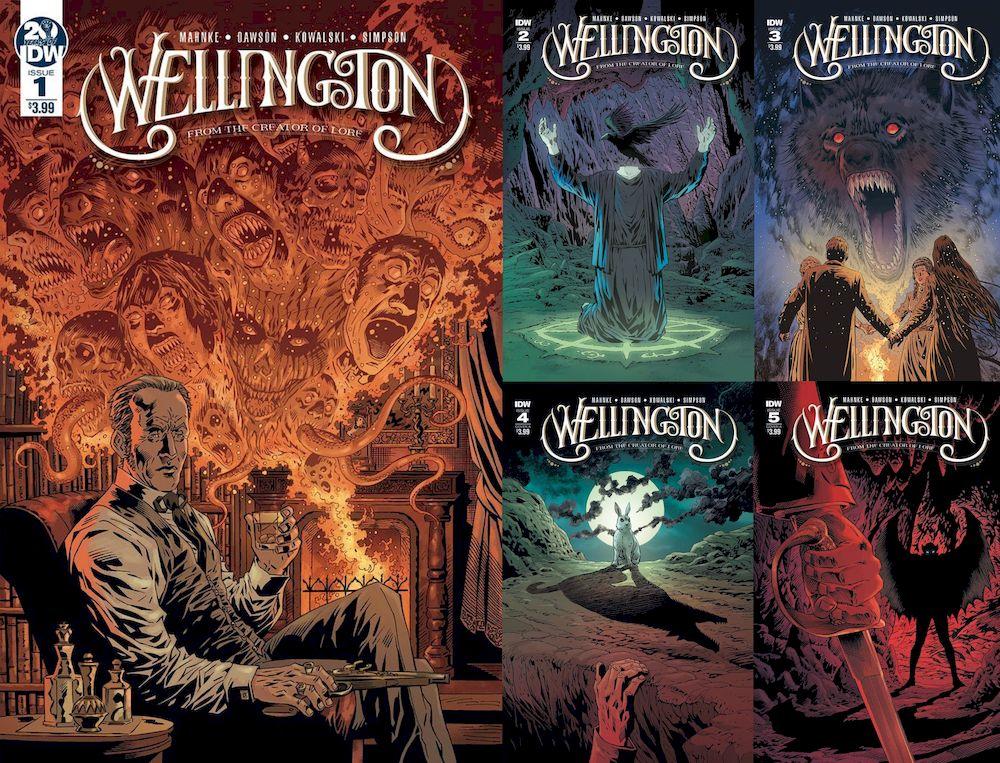 WELLINGTON #1 - 5 (OF 5) SET