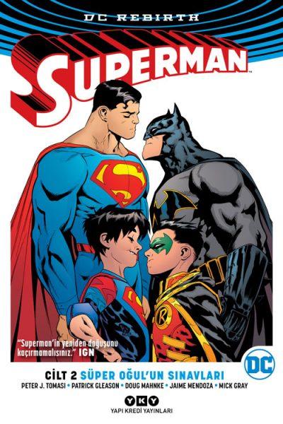 Superman DC Rebirth Cilt 2: Süper Oğul'un Sınavları