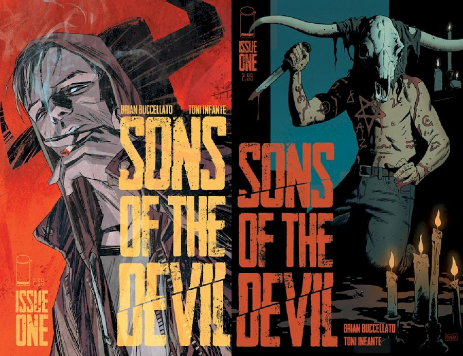 SONS OF THE DEVIL #1 COVER A + COVER C