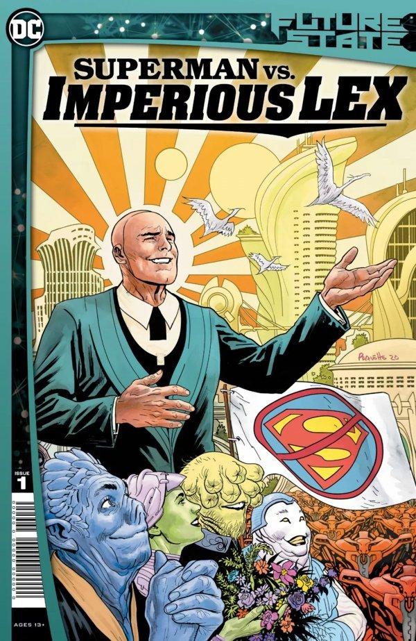 FUTURE STATE SUPERMAN VS IMPERIOUS LEX #1 (OF 3) - ÖN SİPARİŞ KAPORA ÖDEMESİ