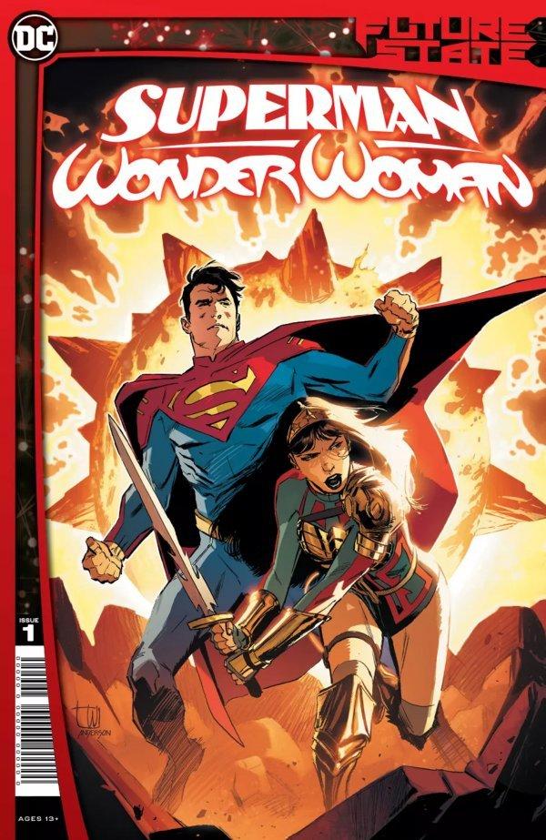 FUTURE STATE SUPERMAN WONDER WOMAN #1 (OF 2) - ÖN SİPARİŞ KAPORA ÖDEMESİ