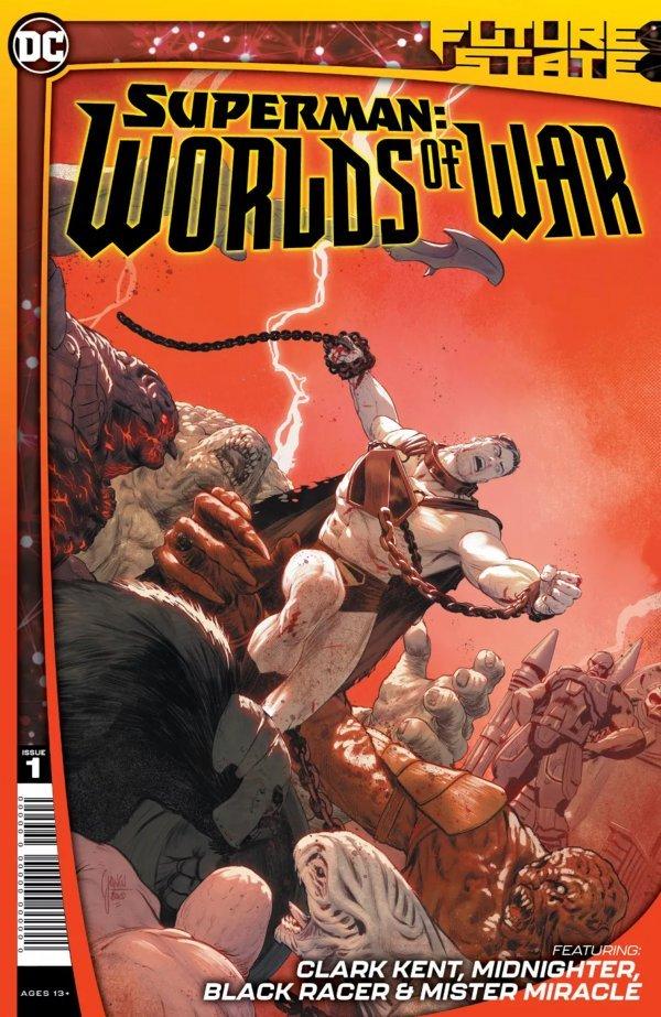 FUTURE STATE SUPERMAN WORLDS OF WAR #1 (OF 4) - ÖN SİPARİŞ KAPORA ÖDEMESİ