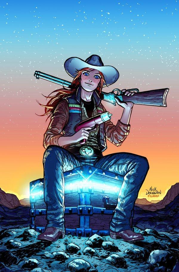 JINNY HEX SPECIAL #1 (ONE SHOT) COVER A NICK DERINGTON - ÖN SİPARİŞ KAPORA ÖDEME