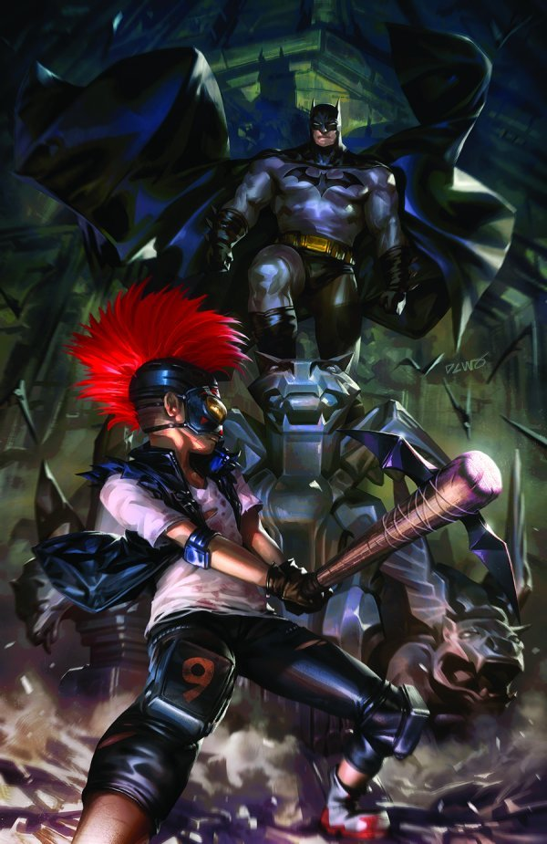BATMAN ANNUAL #5 COVER A DERRICK CHEW - ÖN SİPARİŞ KAPORA ÖDEMESİ