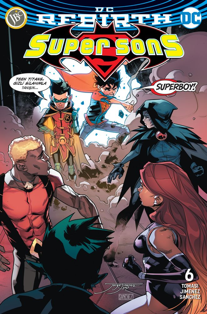 Super Sons Sayı 6