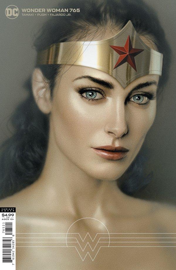 WONDER WOMAN #765 COVER B JOSHUA MIDDLETON CARD STOCK VARIANT