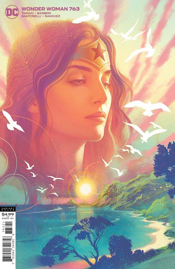 WONDER WOMAN #763 COVER B JOSHUA MIDDLETON CARD STOCK VARIANT