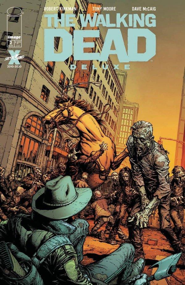 WALKING DEAD DLX #2 COVER A FINCH & MCCAIG