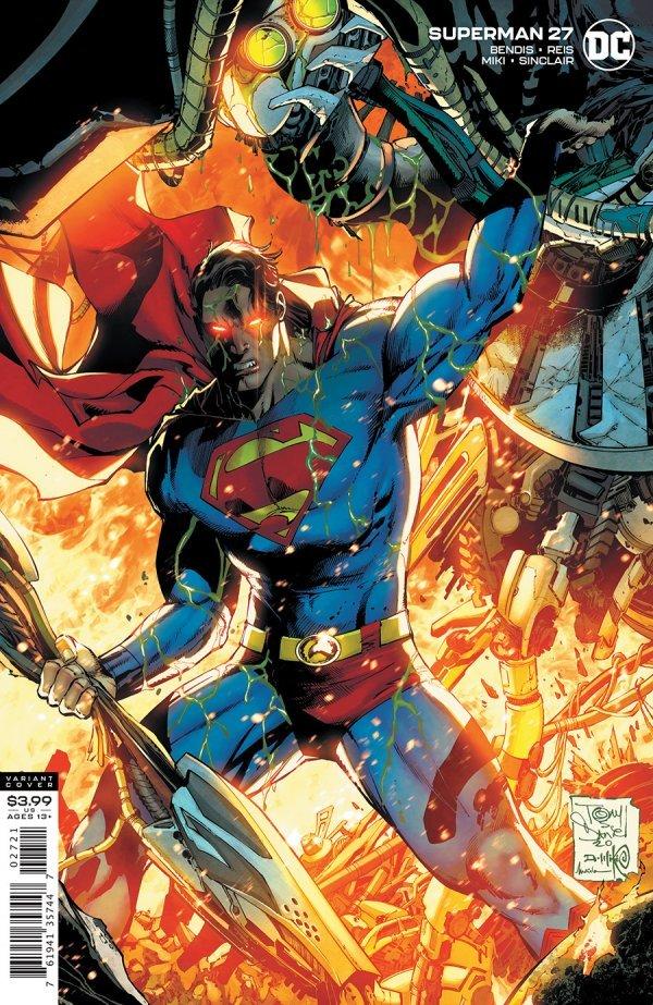 SUPERMAN #27 COVER B TONY S DANIEL & DANNY MIKI VARIANT