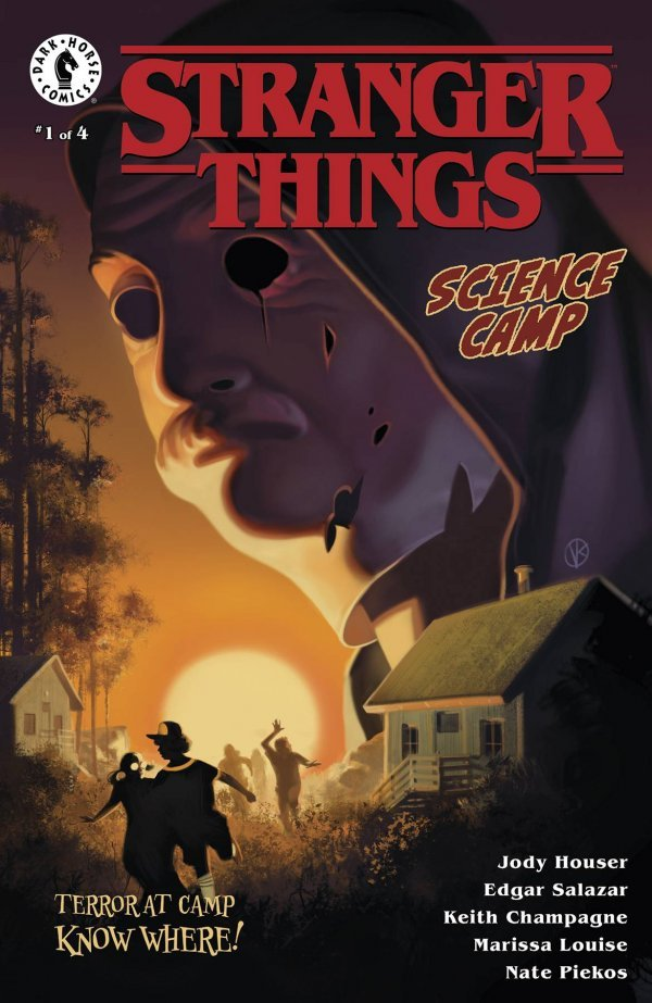 STRANGER THINGS SCIENCE CAMP #1 (OF 4) COVER A KALVACHEV