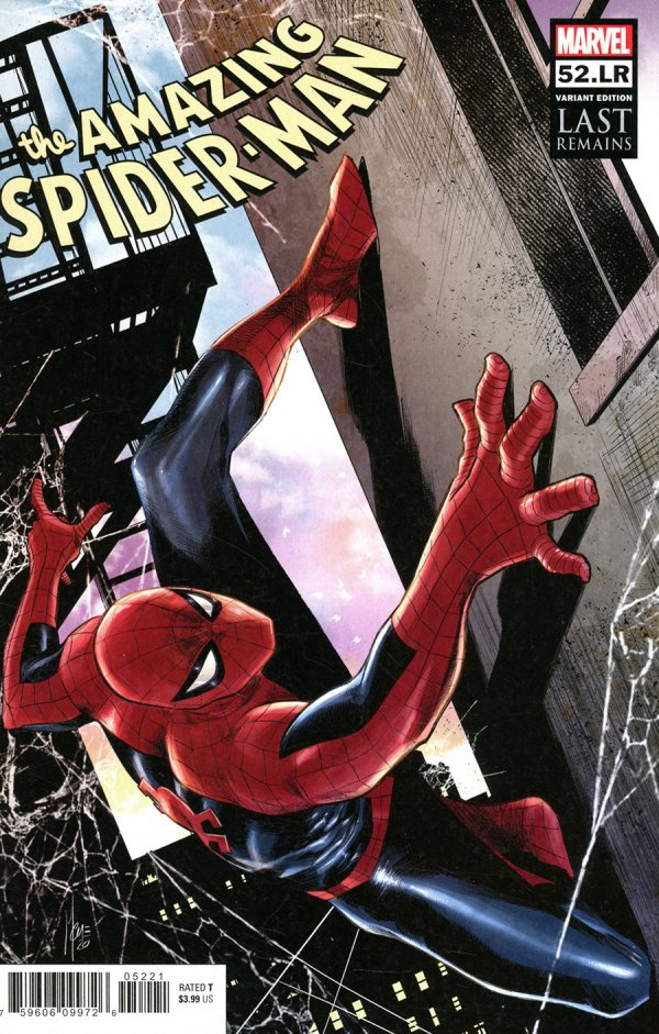 AMAZING SPIDER-MAN #52.LR CHECCHETTO VARIANT