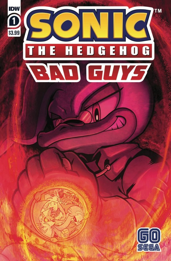 SONIC THE HEDGEHOG BAD GUYS #1 (OF 4) COVER A HAMMERSTROM