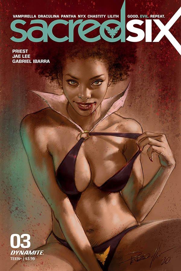 SACRED SIX #3 COVER B PARILLO